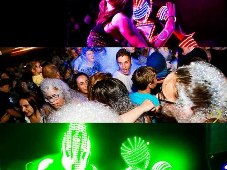 Leggi news | Schiuma Party e Laser show A Monza