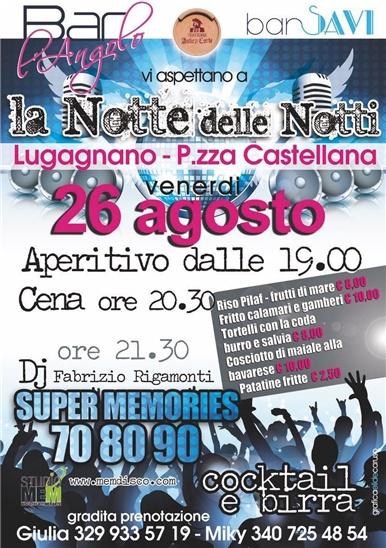 Festa Anni '70 '80 '90 Con Animazione Dj A Lugagnano Piacenza