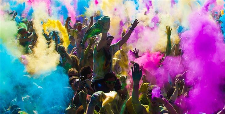 Color Party Con Animazione Dj A Paladina, Bergamo