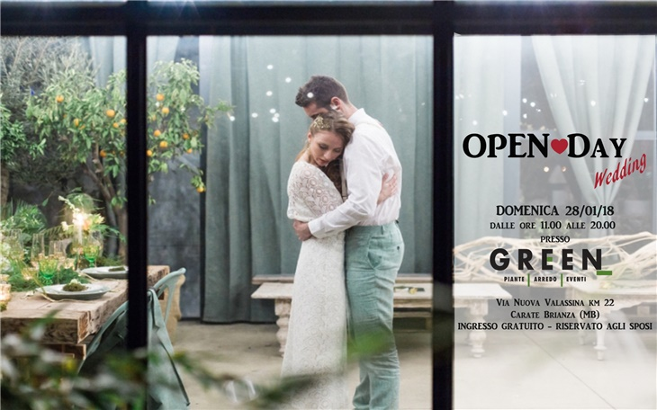 Wedding Is Green, Fiera Sposi A Monza Brianza