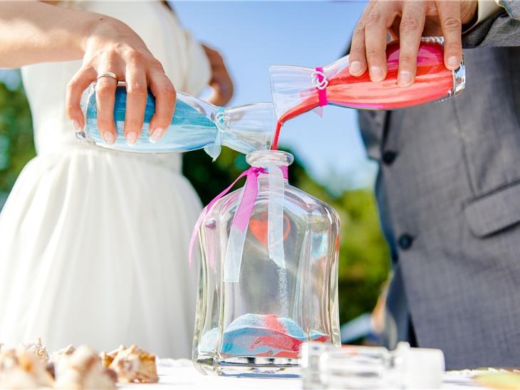 Leggi news | Rito della sabbia per il matrimonio | Studio MEM