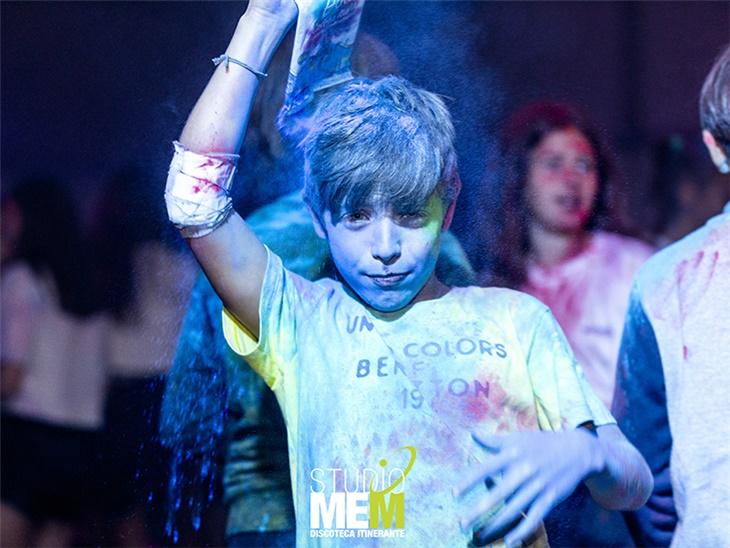 Il Color Party alla festa dell'oratorio di Sesto San Giovanni