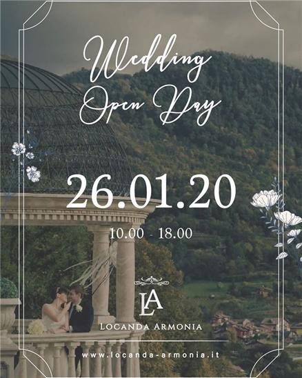 Open day fiera sposi in Locanda Armonia, Bergamo