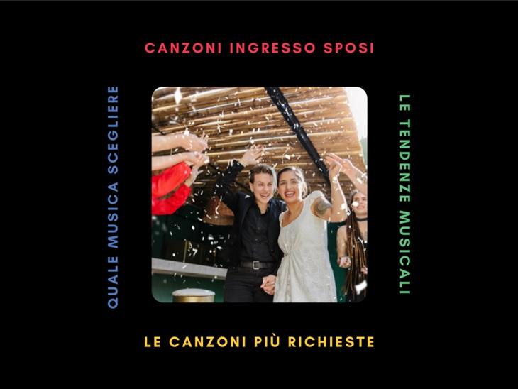 Leggi news | Canzoni ingresso sposi | La proposta di Studio MEM
