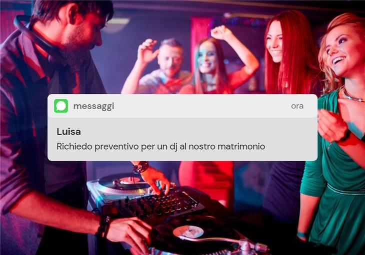 Costo DJ matrimonio