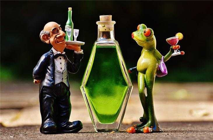 L'animazione dei camerieri pazzi al matrimonio