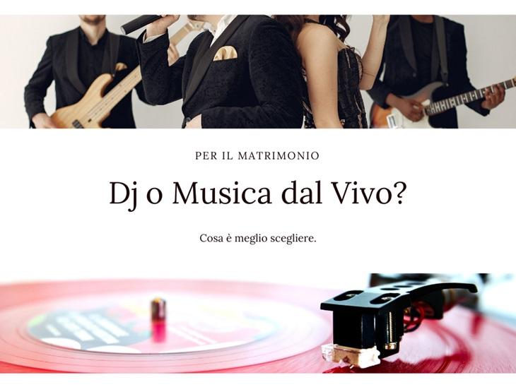 Leggi news | Per il matrimonio meglio il DJ o la musica dal vivo | Studio MEM