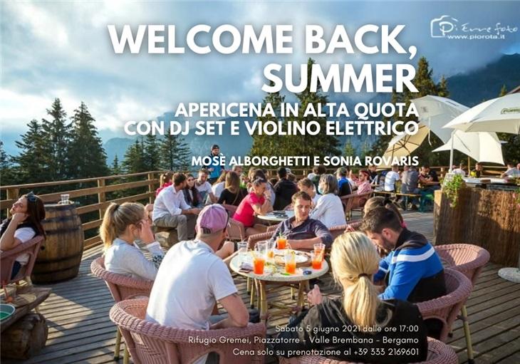 Apericena con dj set e violino elettrico a Bergamo